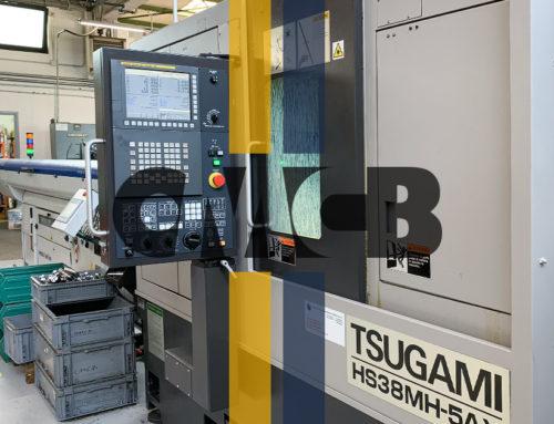 TSUGAMI: An automatic multitasking lathe at our Collio facility unit