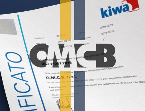 Lavorazioni meccaniche certificate ISO 14001:2015